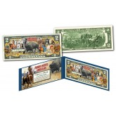 FAMOUS NATIVE AMERICANS Buffalo Bison Official Genuine Legal Tender U.S. $2 Bill