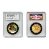 CINCINNATI BENGALS #1 DAD Licensed NFL 24KT Gold Clad JFK Half Dollar Coin in Special *Best Dad* Sealed Graded Holder