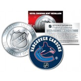 VANCOUVER CANUCKS Royal Canadian Mint Medallion NHL Colorized Coin - Officially Licensed