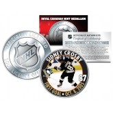 2005-06 SIDNEY CROSBY Royal Canadian Mint Medallion NHL FIRST GOAL Rookie Coin - Officially Licensed