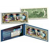 NIAGARA FALLS - Nighttime View - COLORIZED Legal Tender $2 US Bill New York & Canada