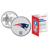 NEW ENGLAND PATRIOTS NFL Massachussetts US Statehood Quarter Colorized Coin  - Officially Licensed