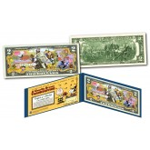 PEANUTS * A CHARLIE BROWN THANKSGIVING * Officially Licensed U.S. Genuine Legal Tender U.S. $2 Bill with Certificate & Display Folio