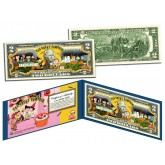 PEANUTS Charlie Brown HALLOWEEN Linus THE GREAT PUMPKIN $2 Bill U.S. Genuine Legal Tender - Officially Licensed