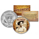 PEARL HART - Wild West Series - JFK Kennedy Half Dollar U.S. Colorized Coin
