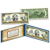 PENNSYLVANIA $2 Statehood PA State Two-Dollar U.S. Bill - Genuine Legal Tender