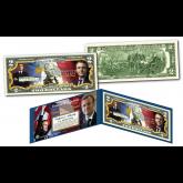 EMMANUEL MACRON President of France OFFICIAL Genuine Legal Tender U.S. $2 Bill