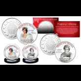 PRINCESS DIANA 1997-2017 20th ANNIVERSARY Set of 2 Royal Canadian Mint Medallion Coins