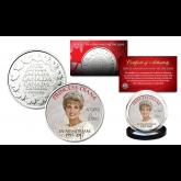 PRINCESS DIANA 1997-2017 20th ANNIVERSARY Royal Canadian Mint Medallion Crown Coin