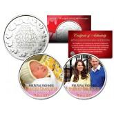 PRINCESS CHARLOTTE of Cambridge - Set of 2 Royal Canadian Mint Medallion Coins