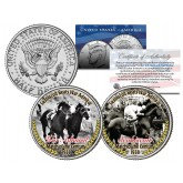 SEABISCUIT BEATS WAR ADMIRAL Match Race JFK Half Dollar 2-Coin Set Thoroughbred Horse Racing
