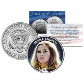 URSULA ANDRESS - Sex Symbol of the 1960s - Colorized JFK Kennedy Half Dollar U.S. Coin