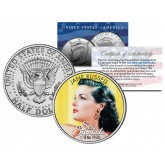JANE RUSSELL - Sex Symbol of the 1950s - Colorized JFK Kennedy Half Dollar U.S. Coin