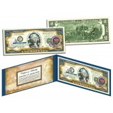 ARIZONA $2 Statehood AZ State Two-Dollar U.S. Bill - Genuine Legal Tender