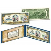 ARKANSAS $2 Statehood AR State Two-Dollar U.S. Bill - Genuine Legal Tender