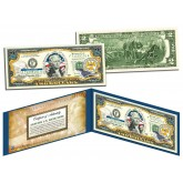 MISSISSIPPI $2 Statehood MS State Two-Dollar U.S. Bill - Genuine Legal Tender