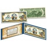 NEBRASKA $2 Statehood NE State Two-Dollar U.S. Bill - Genuine Legal Tender