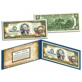 NEW HAMPSHIRE $2 Statehood NH State Two-Dollar U.S. Bill - Genuine Legal Tender