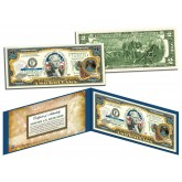 NEW MEXICO $2 Statehood NM State Two-Dollar U.S. Bill - Genuine Legal Tender