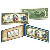 NEW YORK $2 Statehood NY State Two-Dollar U.S. Bill - Genuine Legal Tender