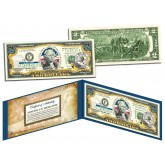 NORTH DAKOTA $2 Statehood ND State Two-Dollar U.S. Bill - Genuine Legal Tender