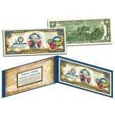 OHIO $2 Statehood OH State Two-Dollar U.S. Bill - Genuine Legal Tender