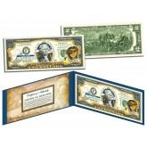 OREGON $2 Statehood OR State Two-Dollar U.S. Bill - Genuine Legal Tender