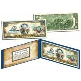 SOUTH CAROLINA $2 Statehood SC State Two-Dollar U.S. Bill - Genuine Legal Tender