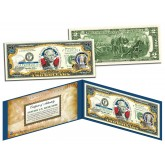 WYOMING $2 Statehood WY State Two-Dollar U.S. Bill - Genuine Legal Tender