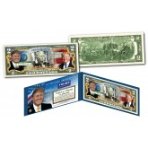DONALD TRUMP 45th President of the United States OFFICIAL Genuine Legal Tender U.S. $2 Bill