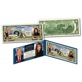 DONALD & MELANIA TRUMP  * America's First Couple * Official Genuine Legal Tender U.S. $2 Bill