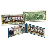 American Civil War UNION GENERALS Genuine Legal Tender U.S. $2 Bill