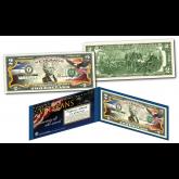 VETERAN'S DAY Veteran Genuine Legal Tender U.S. $2 Bill with Premium Display Folio & Certificate of Authenticity
