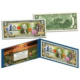 VIETNAM - Independence Freedom & Happiness - Colorized $2 Bill U.S. Legal Tender Currency