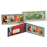 VO NGUYEN GIAP * Vietnam Icon & General * Official Colorized U.S. Genuine Legal Tender U.S. $2 Bill with Certificate & Display Folio