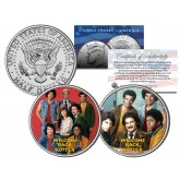 WELCOME BACK KOTTER - TV SHOW - Colorized JFK Half Dollar U.S. 2-Coin Set
