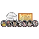 DALE EARNHARDT - 7-Time Champ - North Carolina Quarters US 7-Coin Set - Officially Licensed