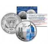 WORLD TRADE CENTER - 14th Anniversary - 9/11 JFK Half Dollar US Coin ONE 1 WTC