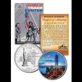 WORLD TRADE CENTER * 15th Anniversary * 9/11 New York Statehood Quarter U.S. Coin ONE 1 WTC