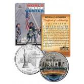 WORLD TRADE CENTER * 16th Anniversary * 9/11 New York Statehood Quarter U.S. Coin WTC