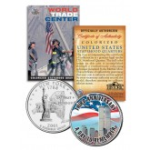 WORLD TRADE CENTER - 3rd Anniversary - 9/11 New York State Quarter U.S. Coin WTC