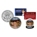 MELANIA TRUMP Presidential First Lady of the United States 2016 JFK Kennedy Half Dollar U.S. Coin