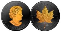 Ruthenium Canadian Maple Leaf